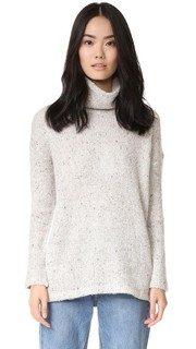 Уютный свитер из трикотажа двойной вязки Splendid