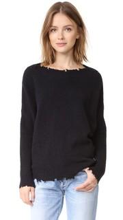 Вязаный пуловер с эффектом поношенности Otto Dame