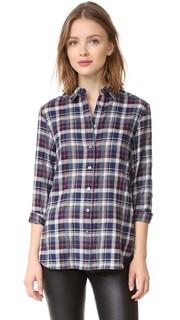 Рубашка в стиле «бойфренд» с планкой на спине Jenni Kayne