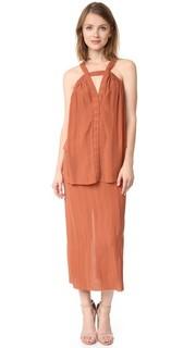 Платье Scrunch со складками Kitx