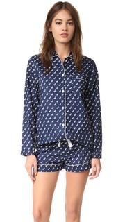 Пижама с шортами Phoebe Three J NYC