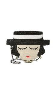 Сумка с изображением лица Коко Шанель Mua Mua