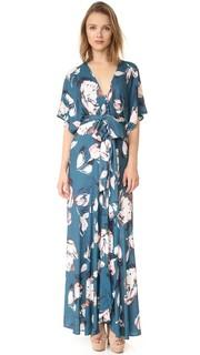 Макси-платье в стиле кимоно Yumi Kim