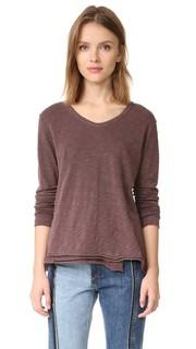 Пуловер с необработанным подолом Wilt