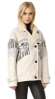 Пальто Basil из короткой шерсти IRO