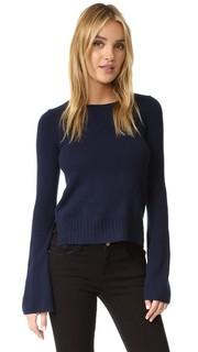 Кашемировый свитер с расклешенными рукавами Autumn Cashmere