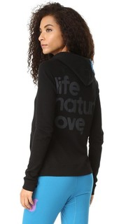 Пуловер с капюшоном Life Nature Love Freecity