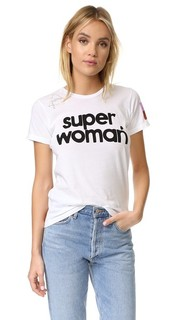 Футболка Super Woman с коротким рукавом Freecity