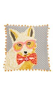 Подушка Glasses с изображением собаки Gift Boutique