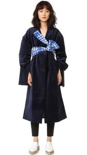 Пальто с поясом Jacquemus