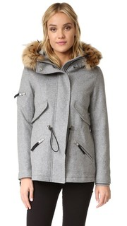 Короткое шерстяное пальто Delancey Sam.