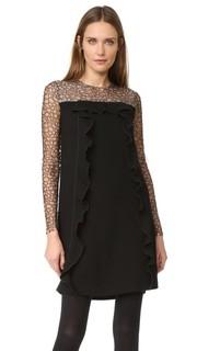 Платье-туника с кружевными рукавами Amelia Toro