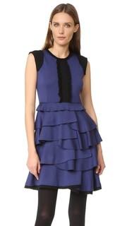 Платье без рукавов с оборками Amelia Toro