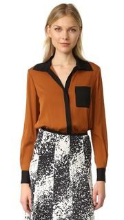 Шелковая блуза Carter Diane von Furstenberg