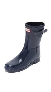 Оригинальные короткие глянцевые сапоги Refined Hunter Boots