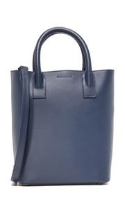 Миниатюрная объемная сумка Hoxton с короткими ручками Mother of Pearl