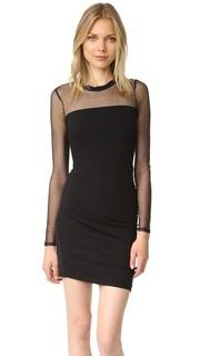 Сетчатое платье с длинными рукавами Pam & Gela