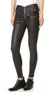 Кожаные брюки Diavolina RtA