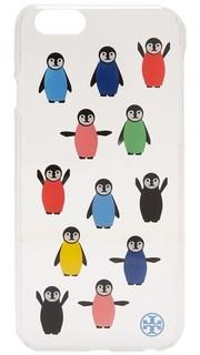 Твердый чехол для iPhone 6/6s с принтом в виде пингвинов Tory Burch