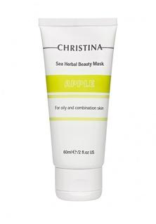 Яблочная маска красоты Christina