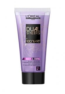 Крем-гель 2 в 1 гладкость для непослушных волос LOreal Professional