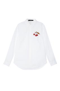Хлопковая рубашка Mo&Co