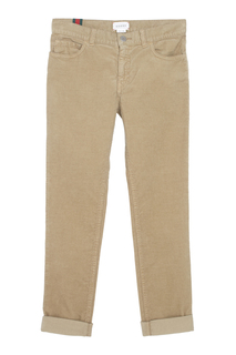 Однотонные брюки Gucci Children