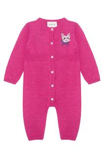 Пижама из шерсти альпаки и мериноса Gucci Children
