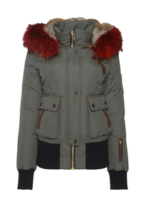Куртка с мехом лисы и кролика Nicole Benisti