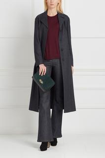 Шерстяное пальто Jil Sander Navy
