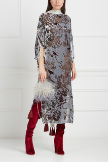Бархатное платье «Деворе» Esve