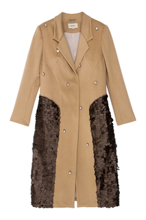 Пальто с пайетками Araida