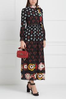 Шелковое платье Red Valentino