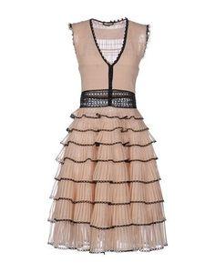 Платье до колена Alexander Mcqueen