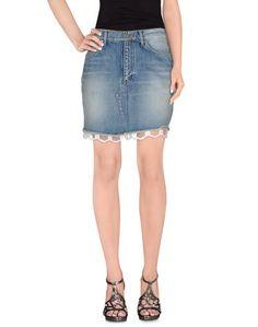 Джинсовая юбка Saint Laurent