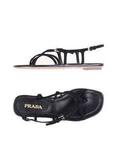Сандалии Prada