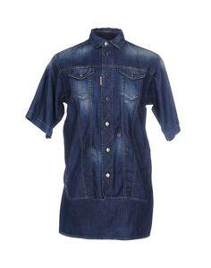 Джинсовая рубашка Dsquared2