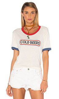 Футболка cold beers olivia ringer - MATE the Label
