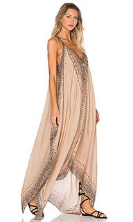 Макси платье с принтом merida - Free People