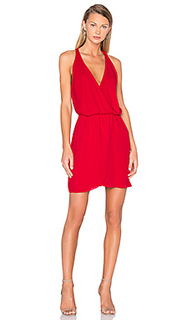 Платье с запахом спереди wrap front - WAYF