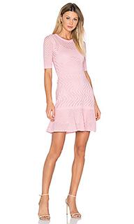 Облегающее платье с юбкой-солнцеклёш и рукавом 3/4 - M Missoni
