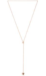 Heart lariat necklace - Rebecca Minkoff