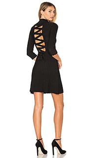 Вязаное платье со шнуровкой сзади simone - For Love & Lemons