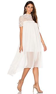 Шелковое платье макси camelia - Lover