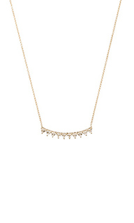 Multi triangle crescent necklace - EF COLLECTION