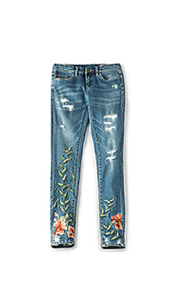 Embroidered skinny jean - BLANKNYC