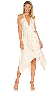 Свободное драпированное платье - KITX