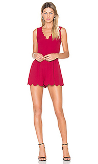 Scallop romper - Red Valentino