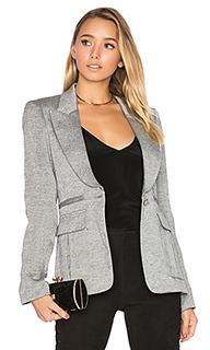 Пиджак с острыми лацканами и обратной плиссировкой над карманами - Smythe