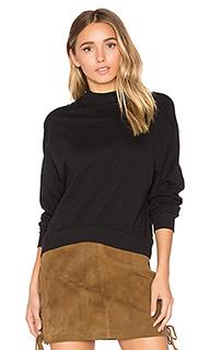 Slub jersey crop sweatshirt - Bobi